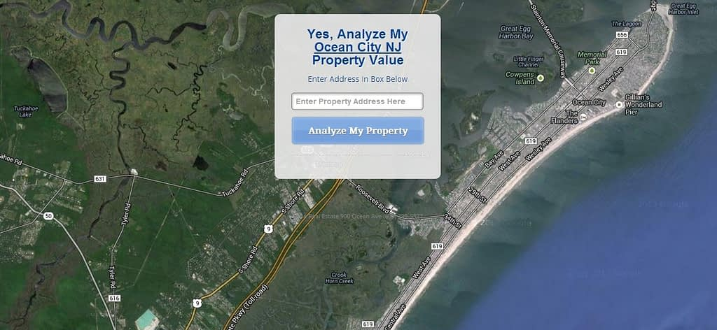 ocnj property value landing